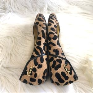 COACH est 1941 animal print shoes